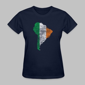 South American Irish Flag - Women's T-Shirt