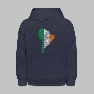 South American Irish Flag - Kids' Hoodie