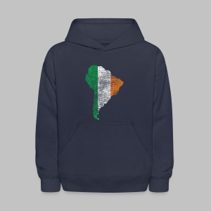 South American Irish Flag - Kids' Hoodie
