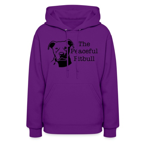 The Peaceful Pit Bull Women - Women's Hoodie