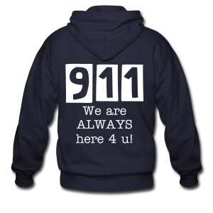 911 Always - Men's Zip Hoodie