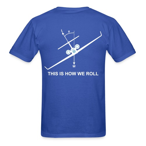 This is how we roll - Men's T-Shirt