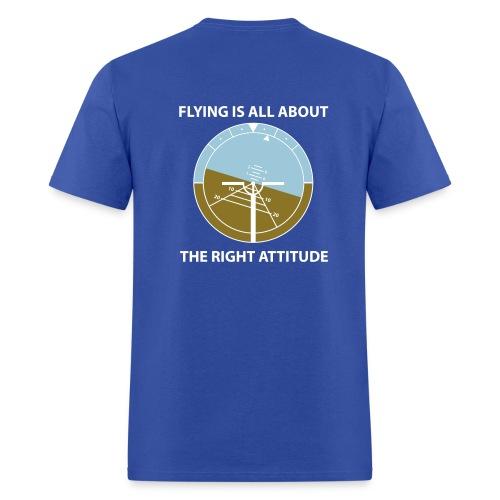 A flying attitude - Men's T-Shirt