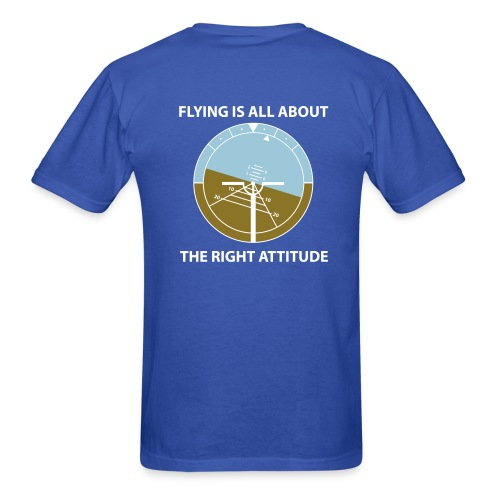 A flying attitude - Men's T-Shirt
