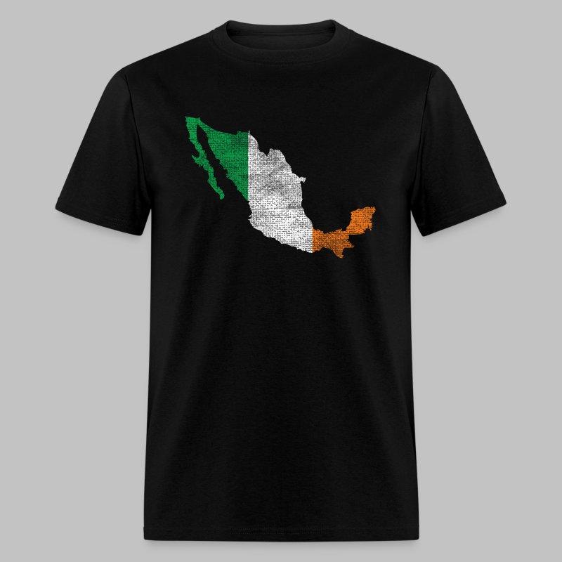 Mexico Irish Flag - Men's T-Shirt