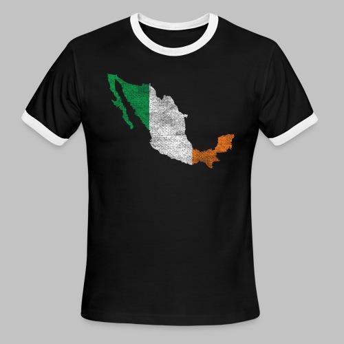 Mexico Irish Flag - Men's Ringer T-Shirt