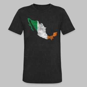 Mexico Irish Flag - Unisex Tri-Blend T-Shirt