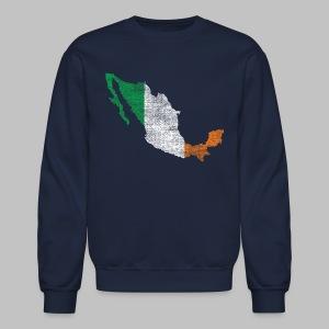 Mexico Irish Flag - Crewneck Sweatshirt