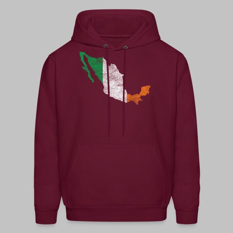 Mexico Irish Flag - Men's Hoodie
