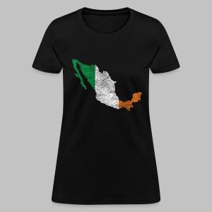 Mexico Irish Flag - Women's T-Shirt