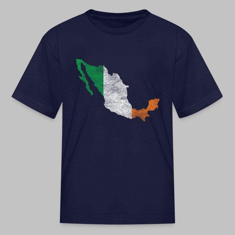 Mexico Irish Flag - Kids' T-Shirt