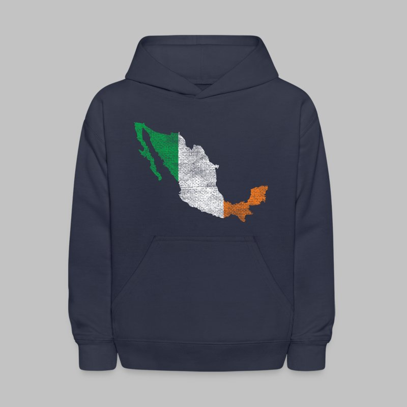 Mexico Irish Flag - Kids' Hoodie