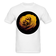 T-Shirts ~ Men's T-Shirt ~ Mens Yellow Rose Circle Street Style Fashion T-Shirt