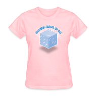 Women's T-Shirts ~ Women's T-Shirt ~ Floating Block of Ice Women's