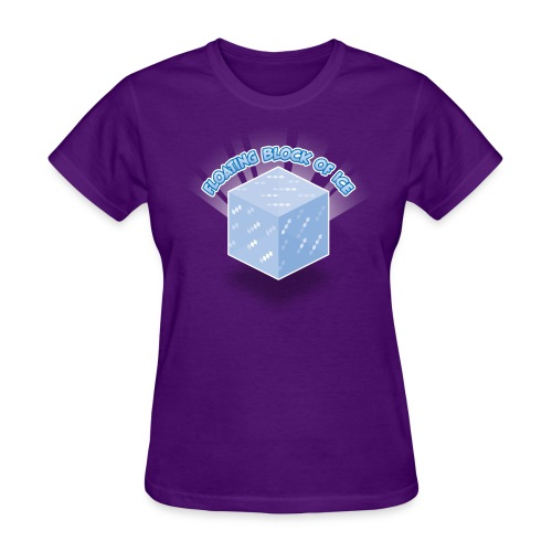 Floating Block of Ice Women's  - Women's T-Shirt