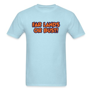 Far Lands or Bust Logo Men's - Men's T-Shirt