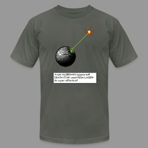 A Wild Alderaan Appears - Men's T-Shirt by American Apparel