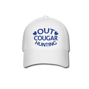 OUT COUGAR HUNTING Caps
