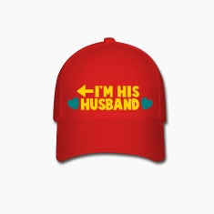 I'm HIS HUSBAND left arrow Caps