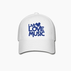 live love music Caps