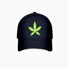 weed pot hash leaf grass simple shape Caps