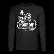 Long Sleeve Shirts ~ Men's Long Sleeve T-Shirt ~ Long Sleeve Shirt - 40oz Of Horror Podcast Logo