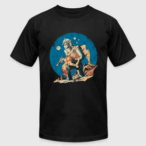 Damsel in Distress - Men's T-Shirt by American Apparel