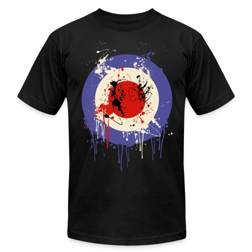 Mod Splatter - Men's Fine Jersey T-Shirt