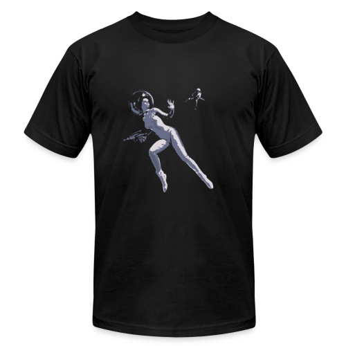 Raygunner - Men's Fine Jersey T-Shirt
