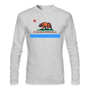 Chicago Republic - Men's Long Sleeve T-Shirt by Next Level