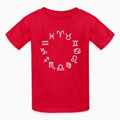 Zodiac signs Kids' Shirts
