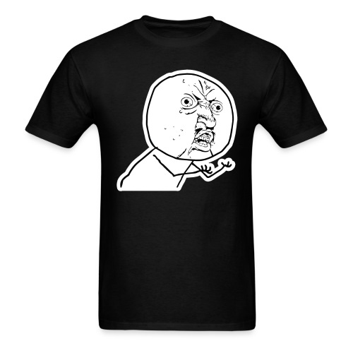 Mr.Yuno - Black (Male) T-Shirt - Men's T-Shirt