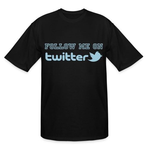 Follow me - Men's Tall T-Shirt
