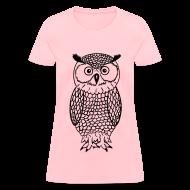 Women's T-Shirts ~ Women's T-Shirt ~ Owl