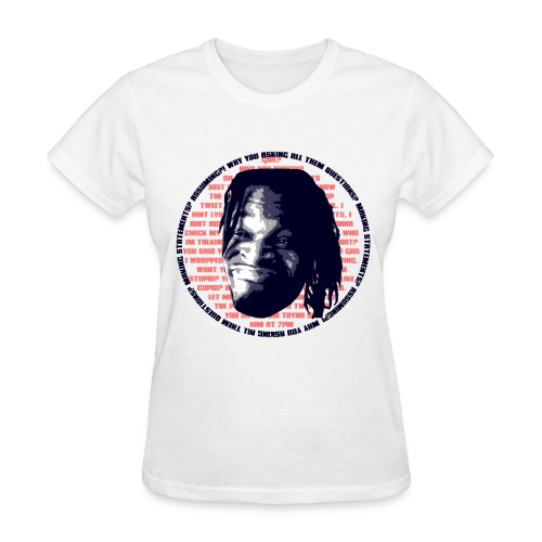 Why you asking all them Questions?! - Women's T-Shirt