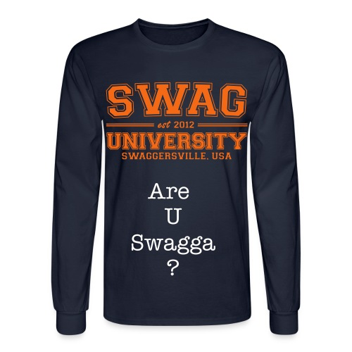 Swagger University! - Men's Long Sleeve T-Shirt