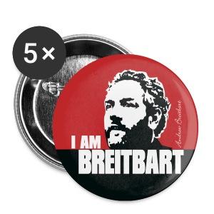 Breitbart - I am - RWB - Button