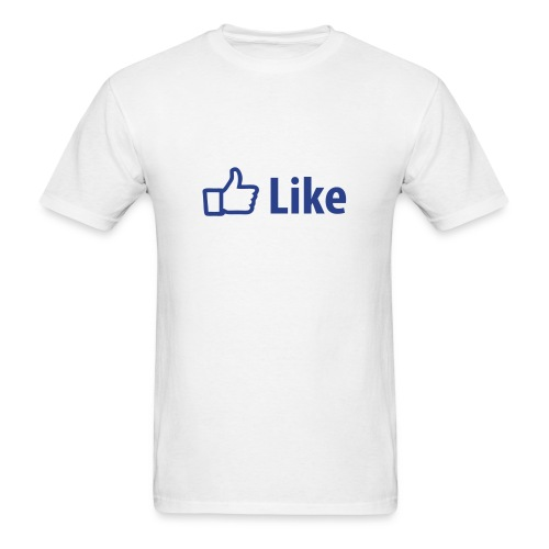 Facebook Like - Mens - Men's T-Shirt