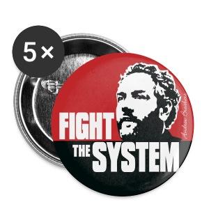 Breitbart - Fight the System - RWB - Button