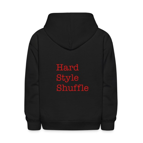 HardStyle Jacket Black/Red - Kids' Hoodie