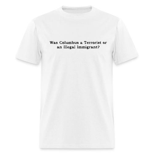 Columbus? - Men's T-Shirt