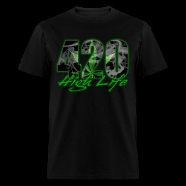 420 High Life T-Shirts