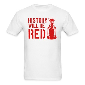 History Will Be Red - Men's T-Shirt