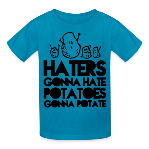 Haters and Potaters Tee - Kids' T-Shirt