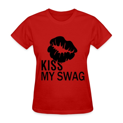 Swag Kiss - Women's T-Shirt
