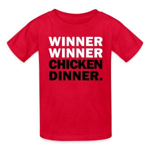 Winner Winner Chicken Dinner Shirt - Kids' T-Shirt