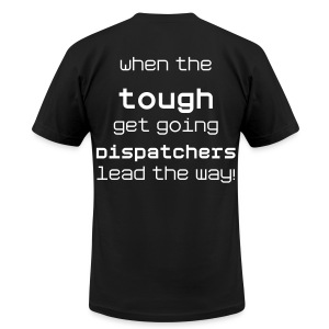 tough - Men's T-Shirt by American Apparel