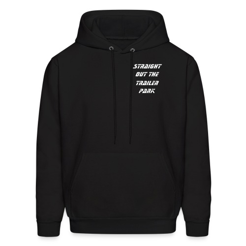 White Trash Pull Over Hooded Sweatshirt - Men's Hoodie