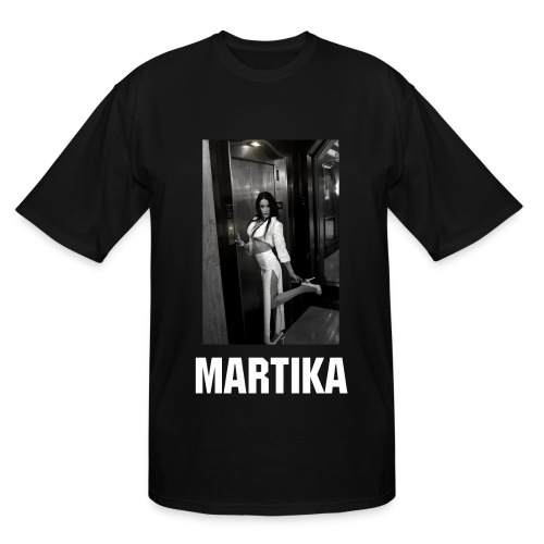 Men's Tall T-Shirt - Digital Direct image of MARTIKA on tall shirt. Let it hang loose :)