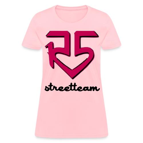 R5 Street Team w/ Riker Lynch on back - Women's T-Shirt